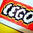 Рисунки по клеточкам Лего