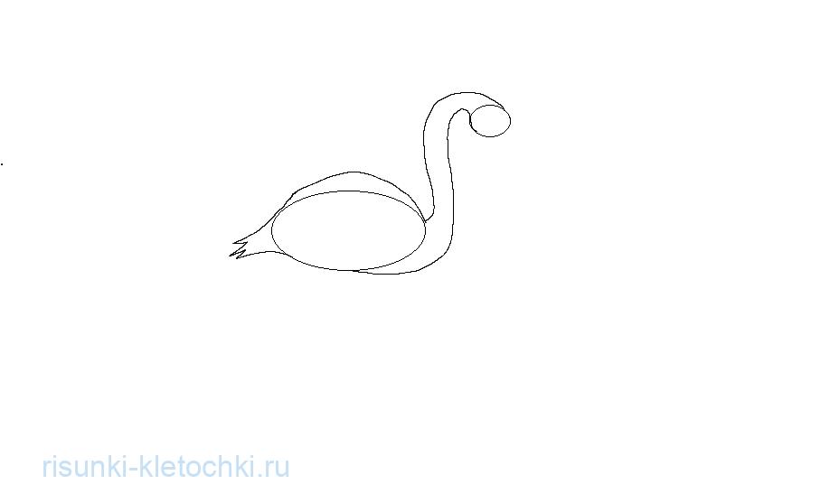 Как нарисовать Фламинго Поэтапно 2
