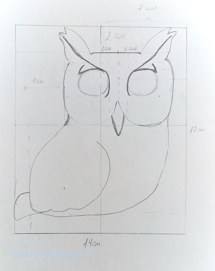 как нарисовать птичку поэтапно карандашом