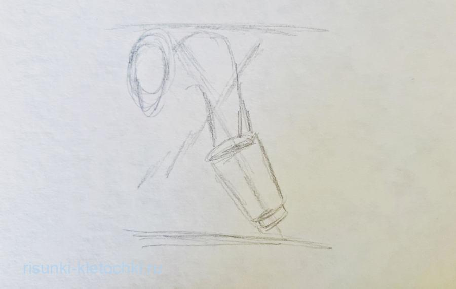 Как нарисовать Бабу ягу поэтапно карандашом