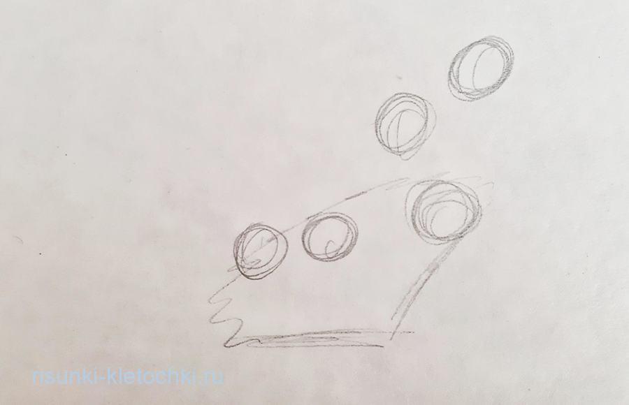 Как нарисовать подснежник  поэтапно