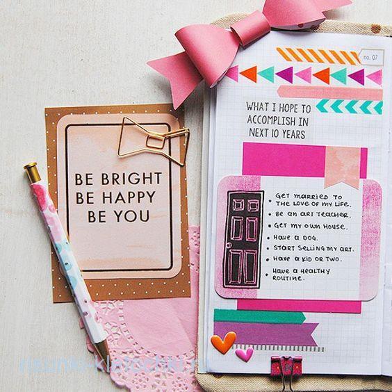Летние идеи для личного дневника 2019