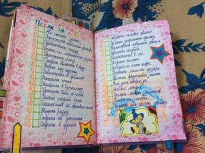 Личный дневник для девочек 12 лет