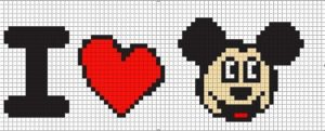 Миккс Маус с сердечком