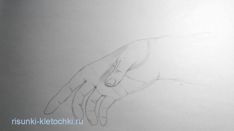 Как нарисовать урку поэтапно карандашом