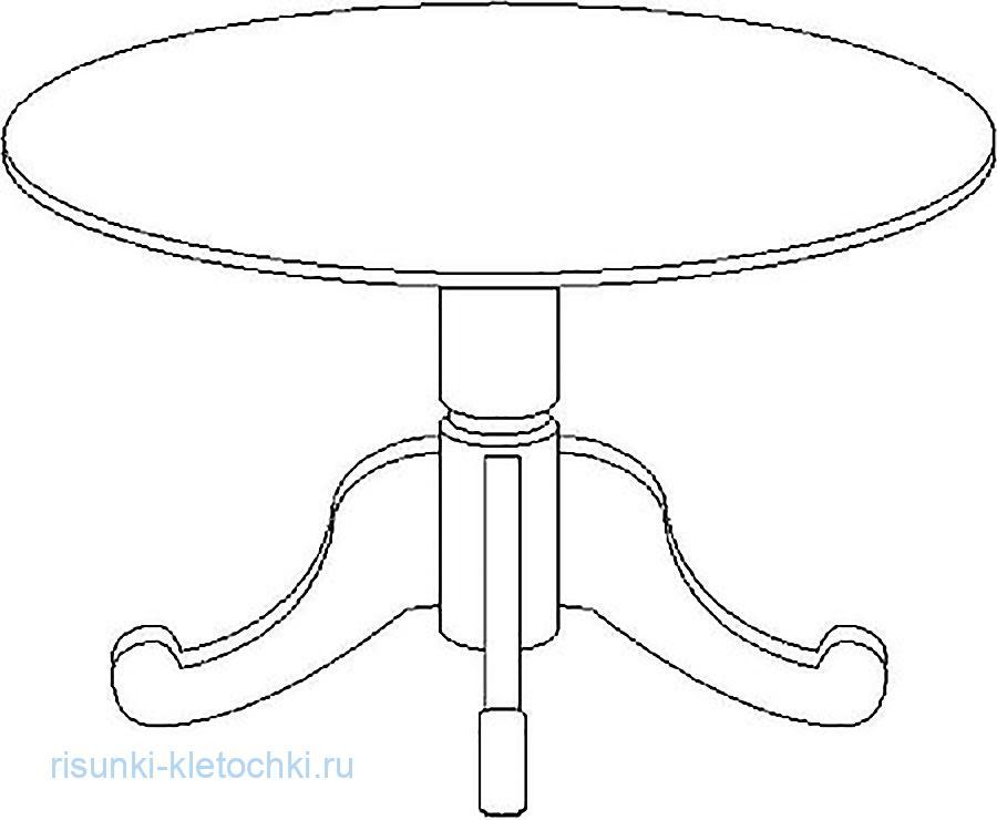 Раскраски  - кухонный сто