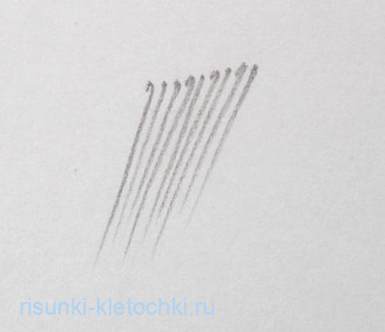 Как штриховать красиво обычным карандашом