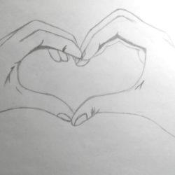 Как нарисовать рисунок на день святого Валентина