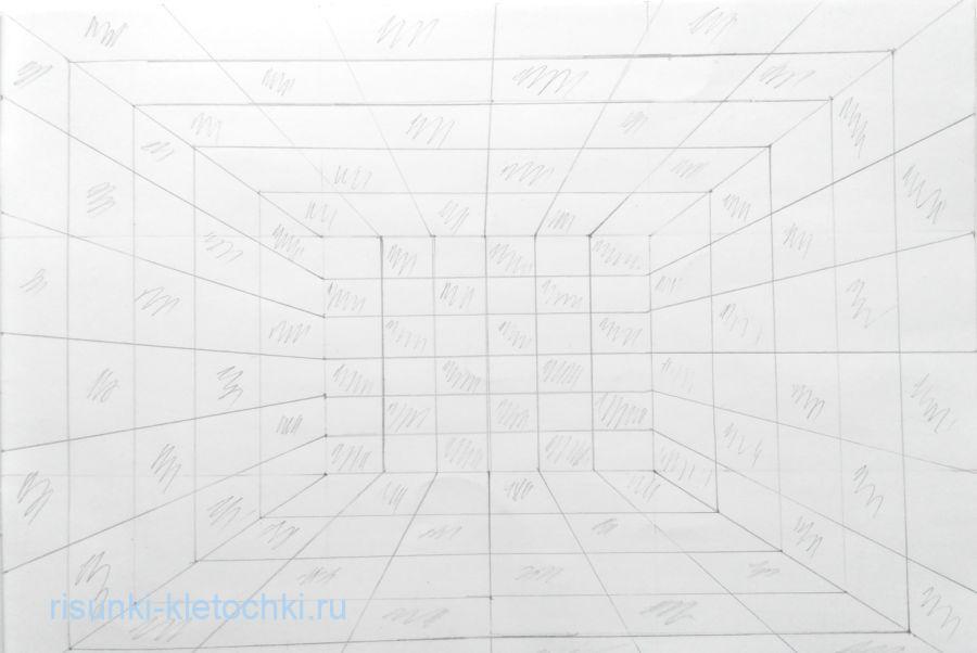 Как нарисовать иллюзию карандашом для начинающих